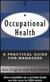 Cover of: Occupational Health | Ann Fingret