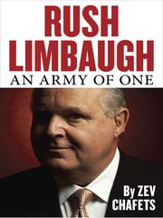 Cover of: Rush Limbaugh | ZeКјev Chafets