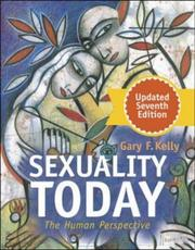 Sexuality Today by Gary F. Kelly