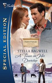 Cover of: A Texan on her doorstep | Stella Bagwell