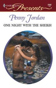 Cover of: One Night with the Sheikh | Penny Jordan