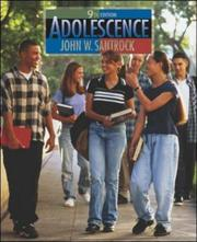 Cover of: Adolescence with Student CD ROM
