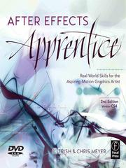 Cover of: After Effects Apprentice | Trish Meyer