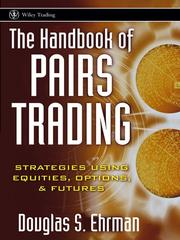 Cover of: The Handbook of Pairs Trading | Douglas S. Ehrman