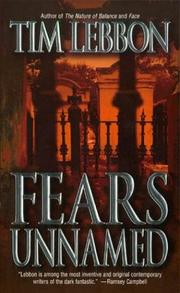 Cover of: Fears unnamed
