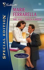 Cover of: Mr. Hall Takes a Bride | Marie Ferrarella