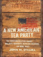 Cover of: A New American Tea Party | John M. O