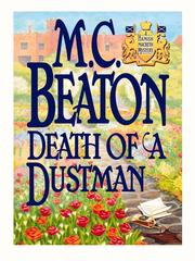 Cover of: Death of a Dustman | M. C. Beaton