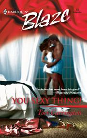 Cover of: You Sexy Thing! | Tori Carrington