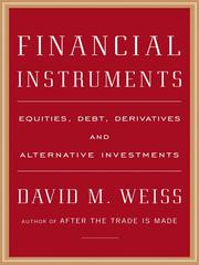 Financial instruments by Weiss, David M.