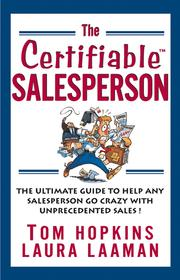 Cover of: The Certifiable Salesperson | Tom Hopkins