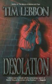 Cover of: Desolation