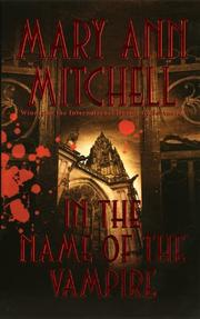 Cover of: In the Name of the Vampire (Marquis de Sade) | Mary Ann Mitchell