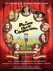 Cover of: A Prairie Home Companion | Garrison Keillor