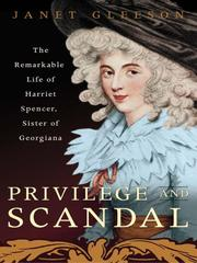 Cover of: Privilege and Scandal | Janet Gleeson