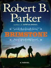 Cover of: Brimstone | Robert B. Parker
