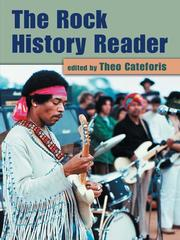 Cover of: The Rock History Reader | Theo Cateforis