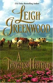 Cover of: A Texan's Honor