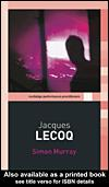 Cover of: JACQUES LECOQ | Murray, Simon David