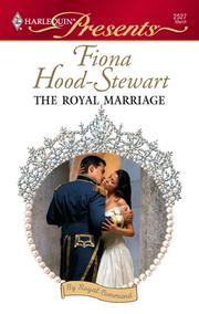 Cover of: The Royal Marriage | Fiona Hood-Stewart