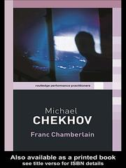 Cover of: Michael Chekhov | Franc Chamberlain