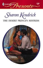 Cover of: The Desert Prince