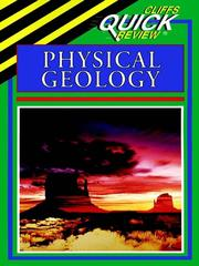 Cover of: CliffsQuickReview Physical Geology | Mark Crawford