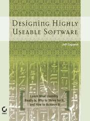 Cover of: Designing Highly Useable Software | Jeffrey M. Cogswell