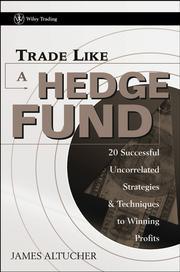 Cover of: Trade Like a Hedge Fund | James Altucher