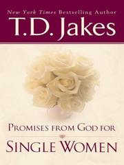 Cover of: Promises from God for Single Women | T. D. Jakes
