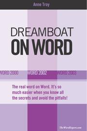 Cover of: Dreamboat on Word | Anne Troy