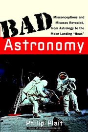Cover of: Bad Astronomy | Philip C. Plait