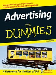 Cover of: Advertising For Dummies | Gary Dahl