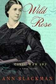 Cover of: Wild Rose | Ann Blackman