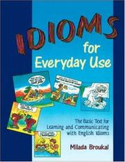 Cover of: Idioms for Everyday Use