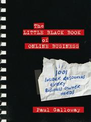 Cover of: The little black book of online business by Paul Galloway