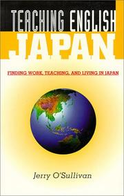 Cover of: Teaching English in Japan | Jerry O