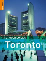 Cover of: The rough guide to Toronto | Phil Lee