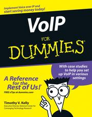 Cover of: VoIP For Dummies | Timothy V. Kelly