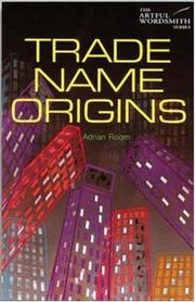 Cover of: Trade Name Origins
