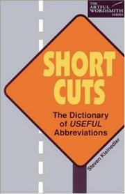Cover of: Short cuts
