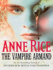Cover of: The Vampire Armand | Anne Rice