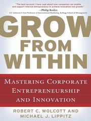 Cover of: Grow from Within | Robert C. Wolcott