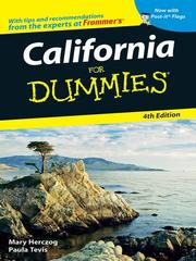 California for dummies by Mary Herczog