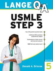 Cover of: Lange Q & ATM USMLE Step 3 | Donald Briscoe
