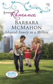 Cover of: Adopted: Family in a Million | Barbara McMahon