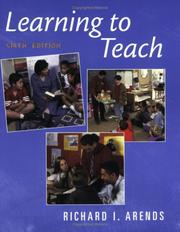 Learning to teach by Richard Arends