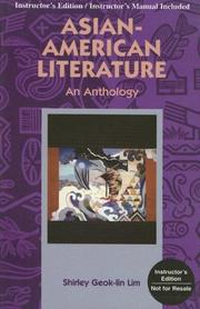 Cover of: Asian-American Literature | Shirley Geok-Lin Lim