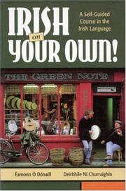 Cover of: Irish on Your Own! A Self-Guided Course in the Irish Language | Eamonn  O