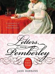 Cover of: Letters From Pemberley | Jane Dawkins